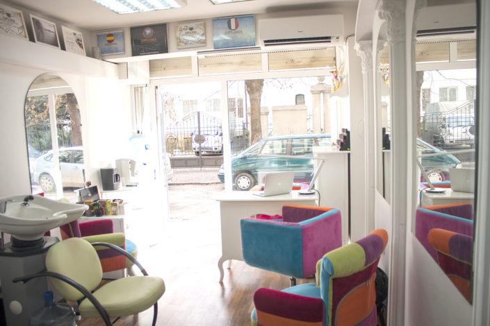 Albena Zhivankina's medical pedicure studio interior